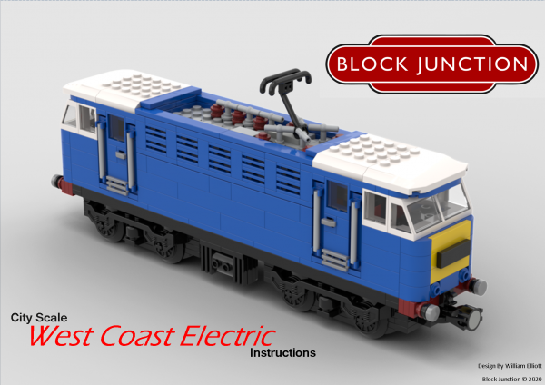 City Scale Lego instructions for the West Coast Electric