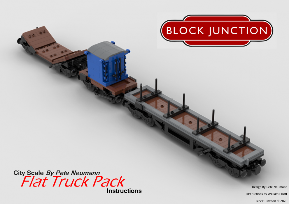 Flat Truck Pack – New Instructions!