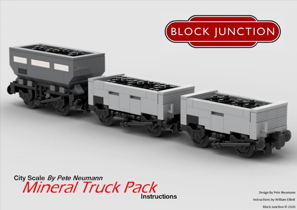 Mineral Truck Pack – New Instructions!