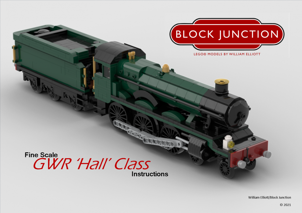 GWR Hall Class – New Instructions!
