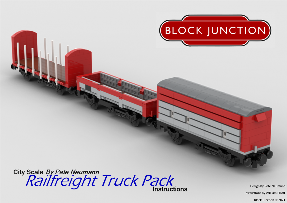 Pete Neumann is back with his Railfreight Truck Pack!
